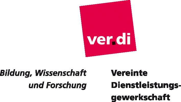 Logo ver.di Bildung, Wissenschaft und Forschung